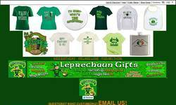 Screenshot of Leprechaun Gifts