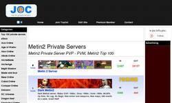 Screenshot of metin2 top 100
