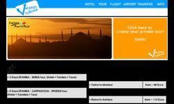 Screenshot of Vacanze in Turchia