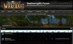 Screenshot of DeathwindBG 3.1.3