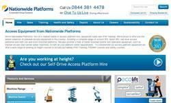 Screenshot of platform-rentals