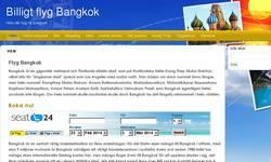 Screenshot of Flyg Bangkok