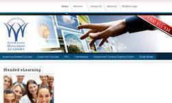 Screenshot of Australian Management Academy