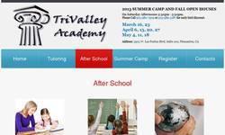 Screenshot of TriValley Academy After School