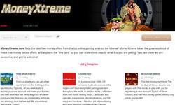 Screenshot of MoneyXtreme Free online money making secrets