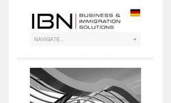 Screenshot of IBN Consulting and Immigration