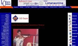 Screenshot of www.lohanaonline.com