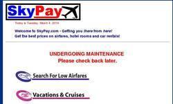 Screenshot of www.skypay.com
