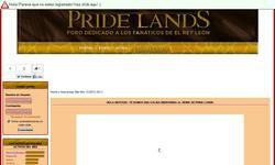 Screenshot of Pride Lands - Foro de EL REY LE�N