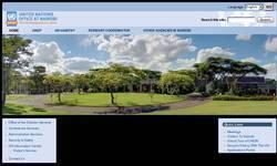 Screenshot of ww.unon.org