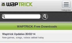 Screenshot of Wapbiz
