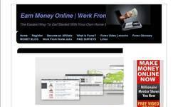 Screenshot of Earn Money Online | Work From Home