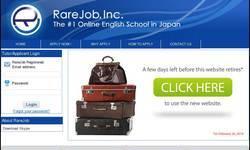Screenshot of rarejob.com