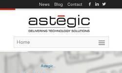 Screenshot of Astegic