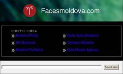Screenshot of Facesmoldova.com