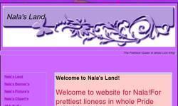 Screenshot of Nala's Land