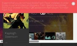 Screenshot of myspace.com