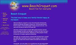 Screenshot of Beach Croquet