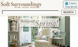 Screenshot of Soft Surroundings