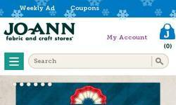 Screenshot of Fabric Crafts Sewing Machines & More