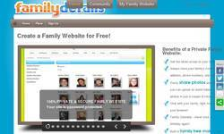 Screenshot of Create a Family Website!