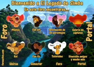 Screenshot of El Legado de Simba - Un hogar para todos los fanaticos de TLK