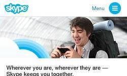 Screenshot of skype