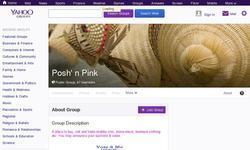 Screenshot of Posh 'n Pink