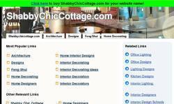 Screenshot of Shabby Chic Cottage