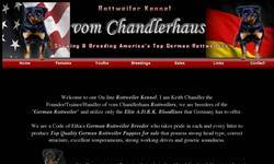 Screenshot of Chandlerhaus Rottweilers