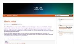 Screenshot of add url
