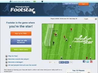 Screenshot of Football Star