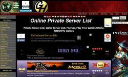 Screenshot of MMORPG Private Servers