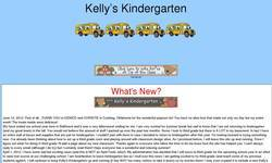 Screenshot of Kelly's Kindergarten