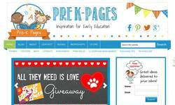 Screenshot of Pre-K Pages