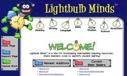 Screenshot of Lightbulb Minds