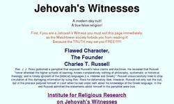 Screenshot of Jehovah's Witnesses