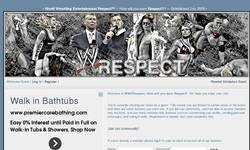 Screenshot of WWERespect