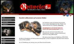 Screenshot of Rottweilers best Sites