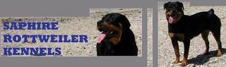 Screenshot of Saphire Rottweiler Kennels