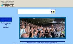 Screenshot of Leeds united chat room