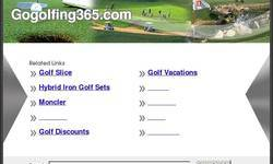 Screenshot of GOGOLFING365