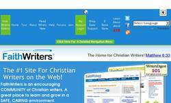 Screenshot of faithwriters