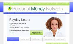 Screenshot of Personal Money Network