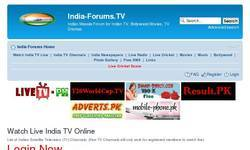 Screenshot of India TV Channels(7303)