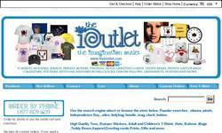 Screenshot of iOutlet - Your One Stop Online Shop
