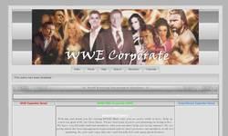 Screenshot of WWE Corporate