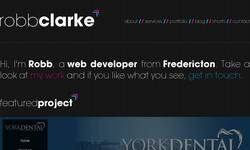 Screenshot of Clarke Graphics