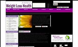 Screenshot of Weight Loss Health