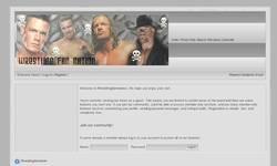 Screenshot of Wrestling Fan Nation